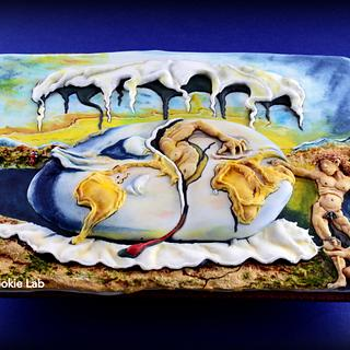 "Sugar Art Museum Collaboration -  ""My Dali Cookie"""