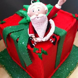 Christmas Cake - Cake by T.A.M. http://www.tspresentation.net/cart/
