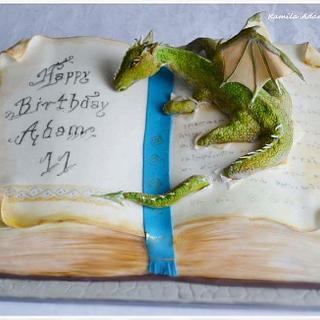 dragon#cake#book#fontann#saracino