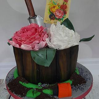 Marie - Gardening Pot Plant Cake