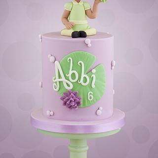 Princess and the Frog Cake