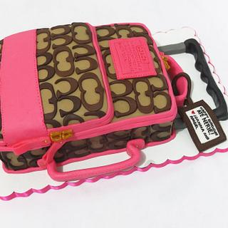 COACH Luggage Cake