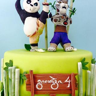kung fu panda cake - Cake by Casta Diva