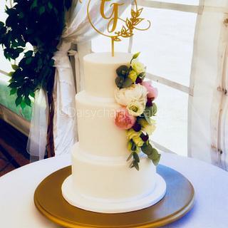 Wedding cake - Cake by Daisychain's Cakes