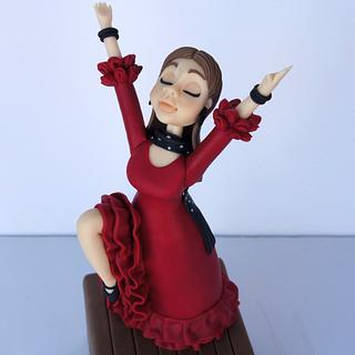 Flamenco doll
