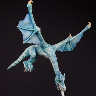 Ice Dragon - Gravitiy Defying Sculpture