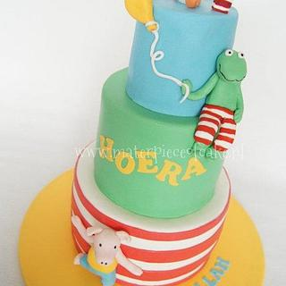 Frog & Friends Cake