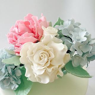 Flower gum paste