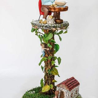 Once Upon Today jack and beanstalk - Cake by Sevda Şen