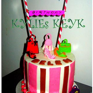 BAGs and Shoes cake - Cake by kylieskeyk