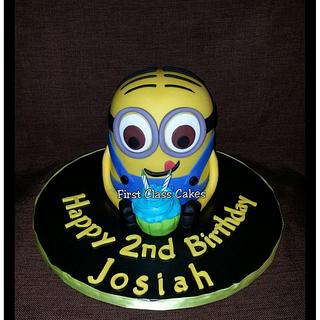 Minion cake - Cake by First Class Cakes