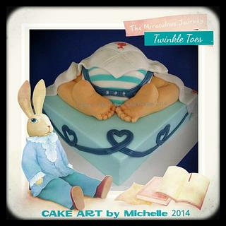 Baby Shower Cake - Cake by CAKE ART by Michelle