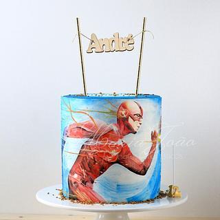 The Flash... for my Son - Cake by Maria João Bolos Artísticos