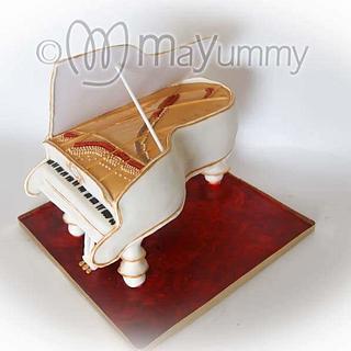 Piano cake - Cake by Mayummy