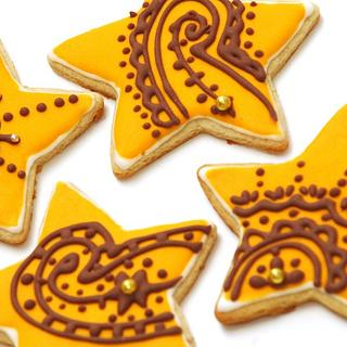Henna Inspired Cookies