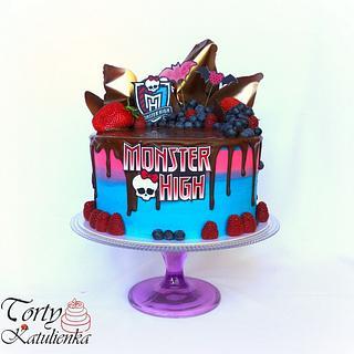Monster High Drip Cake