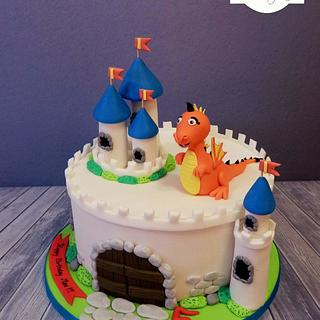 Castle Cake inspired by Crumb Avenue