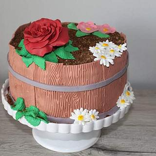 Flowers - Cake by LanaLand