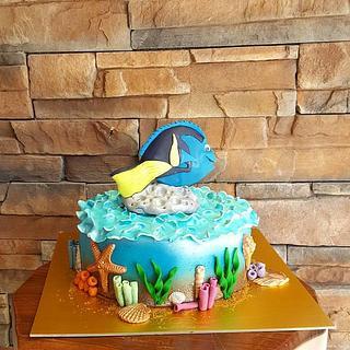 Dory Nemo Cake