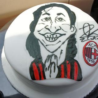 Zlatan Ibrahimovic cake