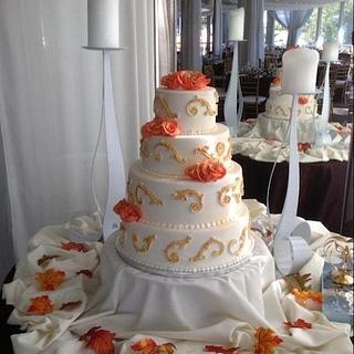 Wedding Cake by Roscoe Bakery