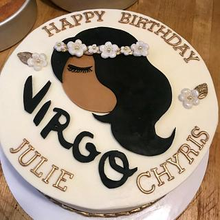 Virgo cake