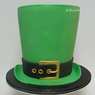 Leprecaun Hat cake