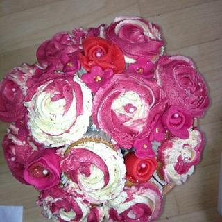 cupcake bokay