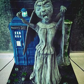 Dr Who ,Weeping angel - Infamous collaboration.