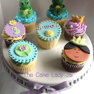 Princess Tiana Inspired Cupcakes - Cake by Jai Mobley