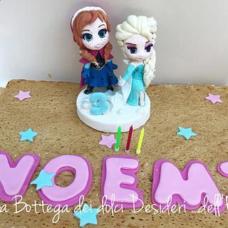 Elsa e Anna di Frozen