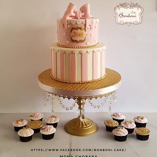 Pink  - Cake by mona ghobara/Bonboni Cake