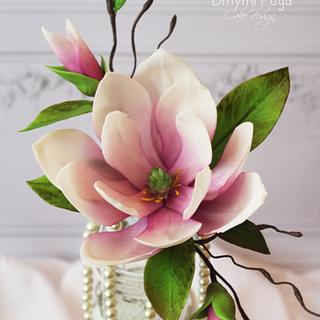 Magnolia  - Cake by Dmytrii Puga