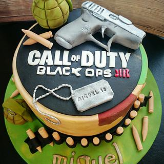 Call of duty cake - Cake by Gele's Cookies
