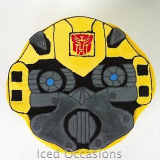 Bumblebee Cake - Cake by Morgan