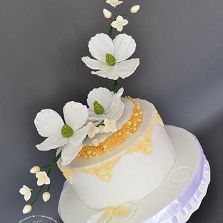 White spring - Cake by Mina Avramova
