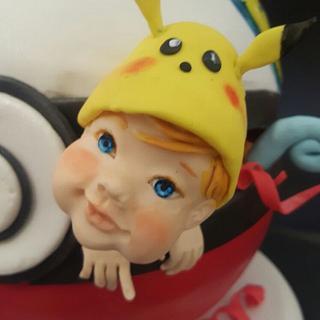 Mi mundo Pokemon - Cake by Ángeles Serrano