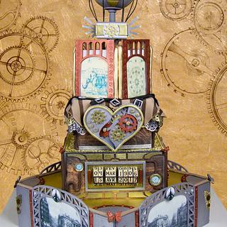 Steampunk Wedding / Steam Cakes - A Steampunk Collaboration
