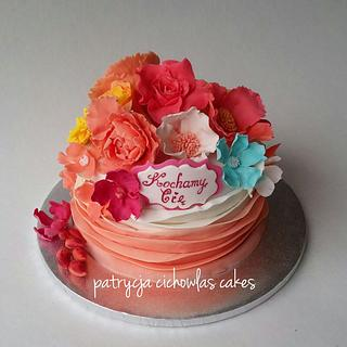 This is for All the Wonderful Women-Women's Day Cake