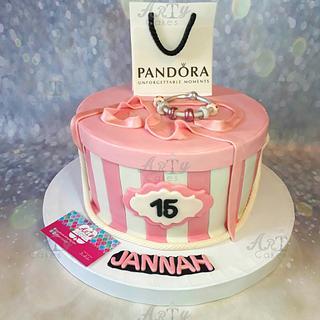 Pandora cake by Arty cakes