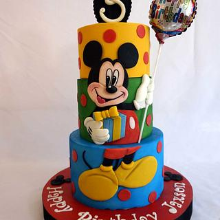 Mickey Mouse Cake - Cake by Custom Cakes by Ann Marie