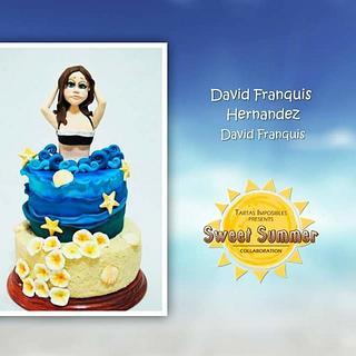 Tarta para la sweet summaer collaboration  - Cake by David Franquis Hernández