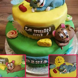 Tom and Jerry cake - Cake by Andreea Gherasim