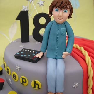 18th Birthday cake - student - Cake by Deborah Cubbon (the4manxies)
