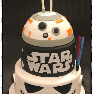 Star Wars - Cake by Rhona