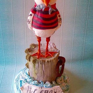 A seagull for Elliot - Cake by Lynette Horner
