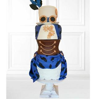 Couture Cakers International Collaboration-Steampunk Cake