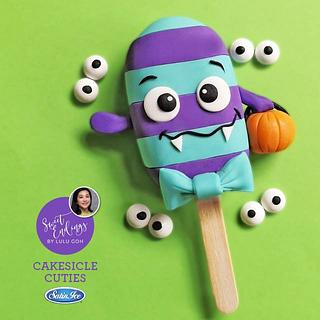 Trick or Treat Cakesicle