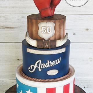 Rocky cake