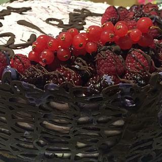 Cheesecake frutti di bosco ❤️